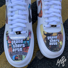 Load image into Gallery viewer, NIKE AF1 - SAN ANDREAS LIVIN' - MattB Customs