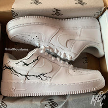 Load image into Gallery viewer, *SAMPLE* NIKE AF1 - 3M REFLECTIVE LIGHTENING - MattB Customs