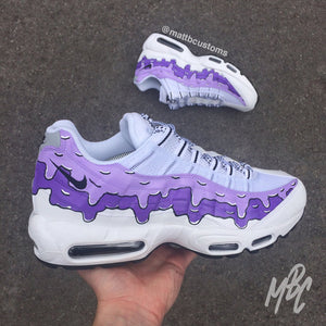 purchase cheap cb619 bdbaa NIKE AIR MAX 95 - PURPLE DRIPPING