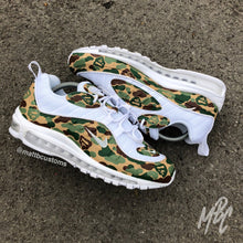 Load image into Gallery viewer, NIKE AIR MAX 98 - ARMY BAPE CAMO