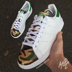 ADIDAS STAN SMITH - ARMY CAMO - MattB Customs