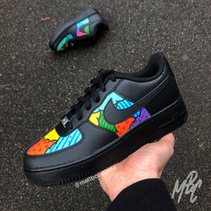 NIKE AF1 - CARTOON CLOUD - MattB Customs