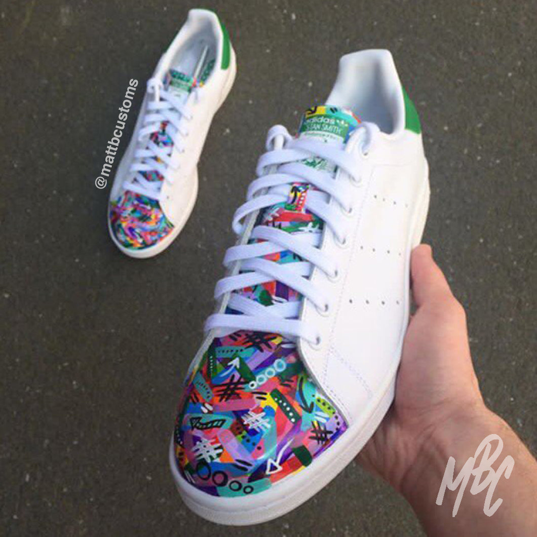 ADIDAS STAN SMITH - FREESTYLE SWIPE