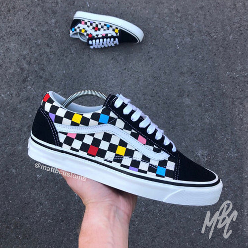 VANS OLD SKOOL - SUMMER CHECK