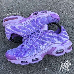 NIKE TN - PURPLE DYE - MattB Customs