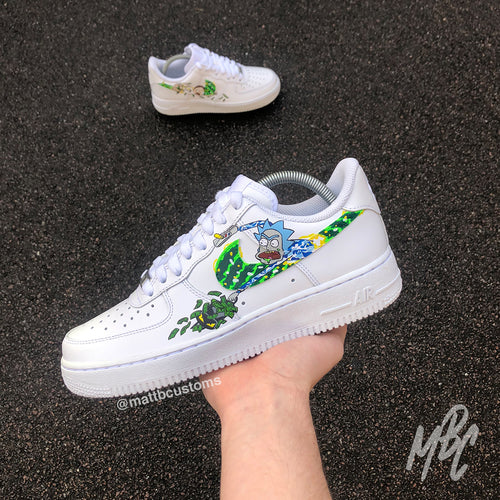 NIKE AF1 - RICK & MORTY ON THE RUN