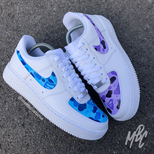 NIKE AF1 - BAPE PANELS - MattB Customs