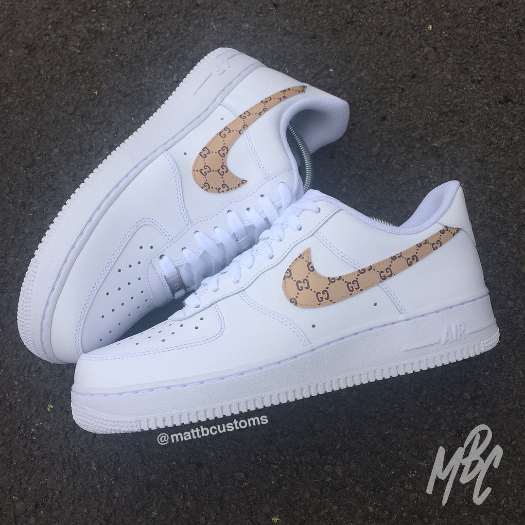 gucci nike air force shoes