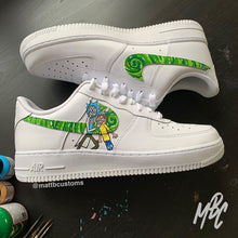 Load image into Gallery viewer, NIKE AF1 - HYPEBEAST RICK & MORTY - MattB Customs