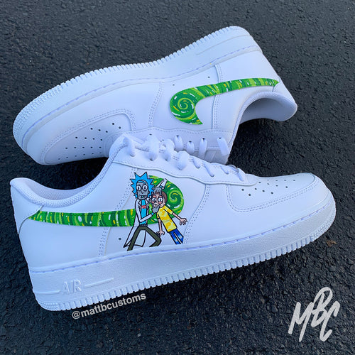 NIKE AF1 - HYPEBEAST RICK & MORTY - MattB Customs