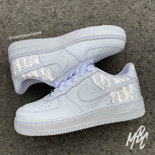 NIKE AF1 - REFLECTIVE DIOR - MattB Customs
