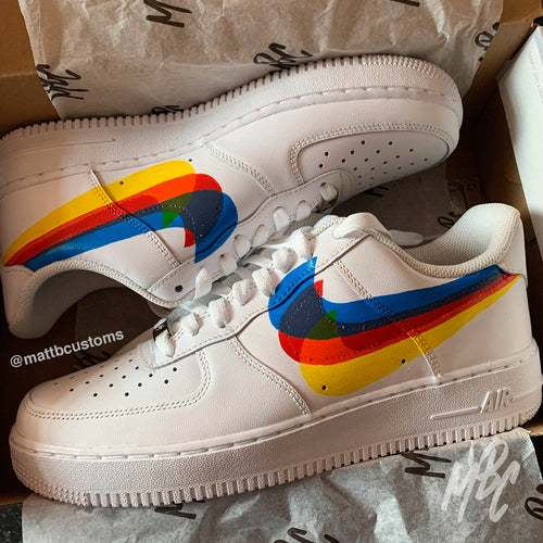 *SAMPLE* NIKE AF1 - SWOOSH OVERLAP - MattB Customs