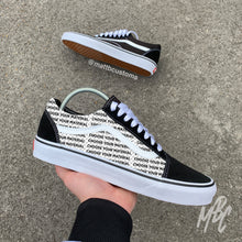 Load image into Gallery viewer, VANS OLD SKOOL - CUT & SEW - MattB Customs