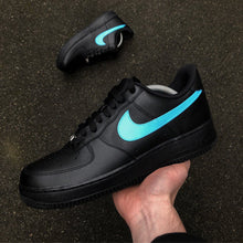 Load image into Gallery viewer, NIKE AF1 BLACK - SWOOSH PACK