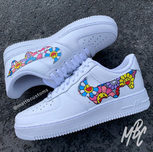 Load image into Gallery viewer, NIKE AF1 - MURAKAMI FLORAL DRIP - MattB Customs