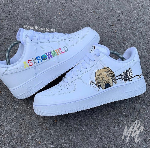 NIKE AF1 - ASTROWORLD - MattB Customs