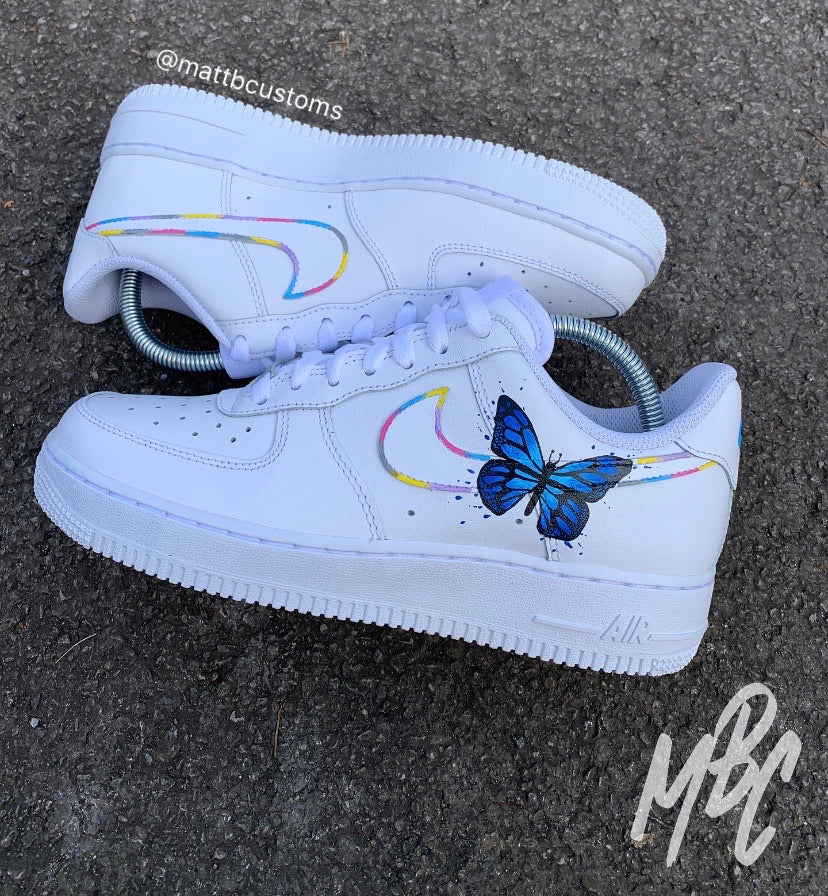 NIKE AF1 - ABSTRACT BUTTERFLY - MattB Customs