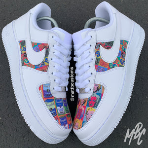NIKE AF1 - POP ART - MattB Customs