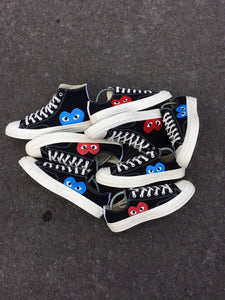 CONVERSE x CDG HIGH - BLUE HEART