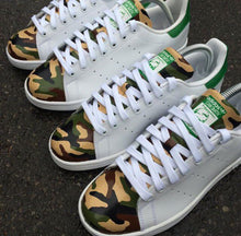 Load image into Gallery viewer, ADIDAS STAN SMITH - ARMY CAMO - MattB Customs
