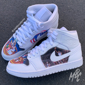 NIKE JORDAN 1 - SPACE JAM - MattB Customs