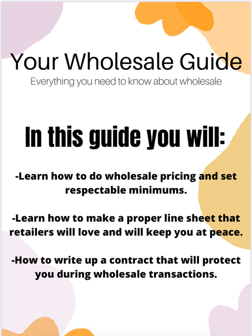 Wholesale Guide