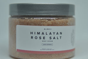 Himalayan Rose Salt Body Scrub Moisturizing
