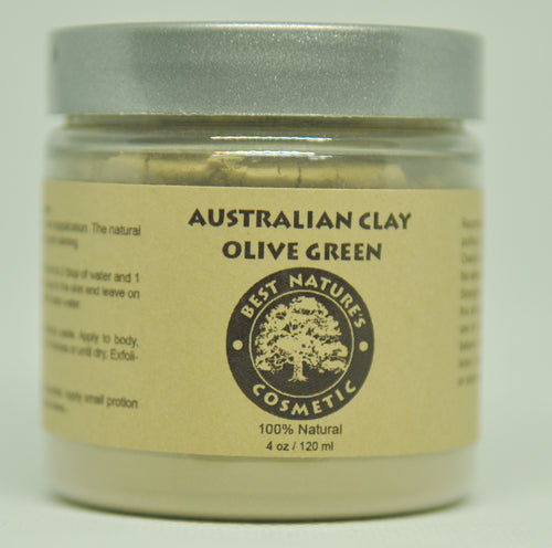 Olive Green Clay Face Mask
