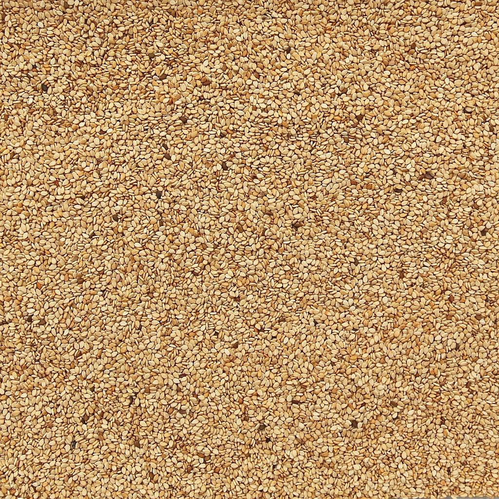 ORGANIC SESAME SEEDS, natural, unhulled
