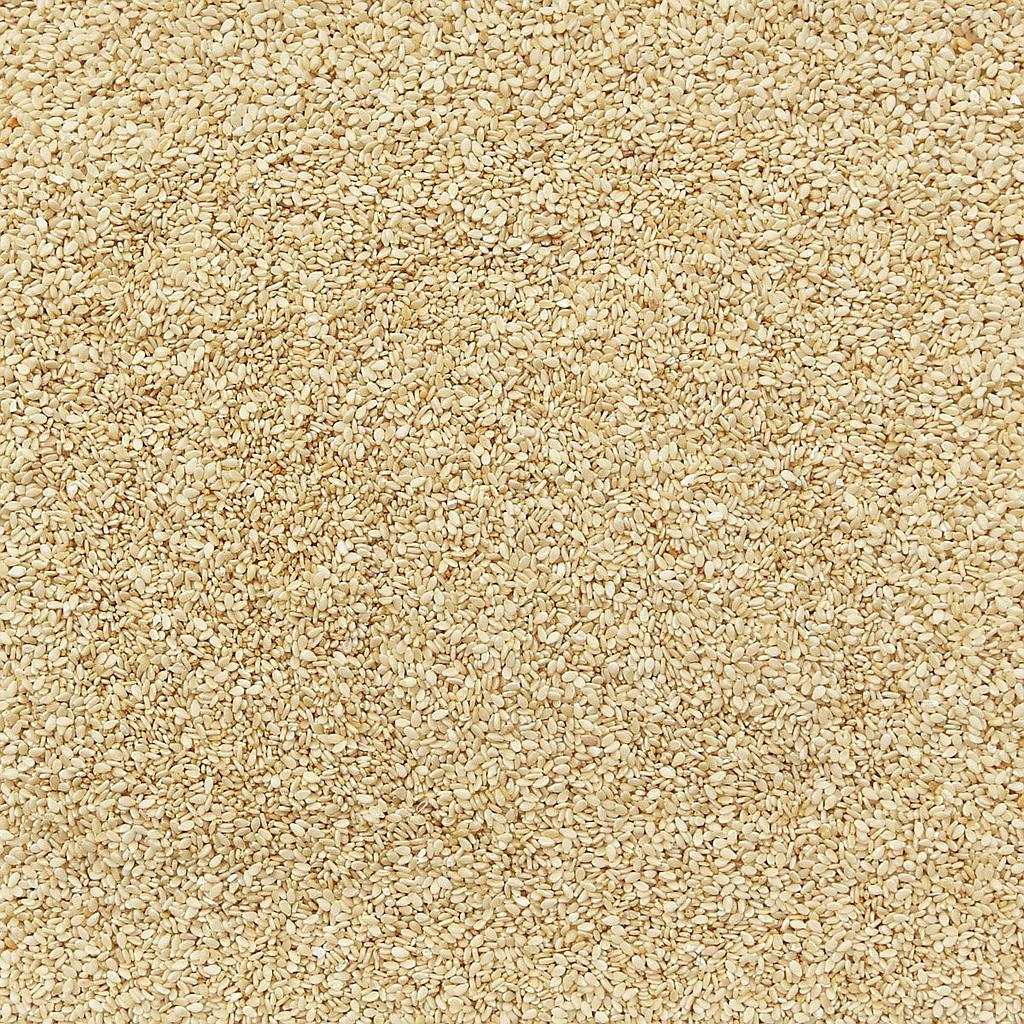 ORGANIC SESAME SEEDS, white, hulled