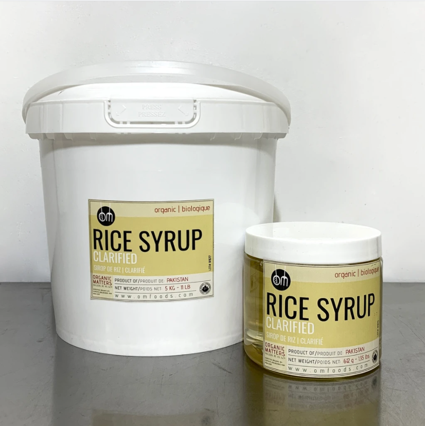 ORGANIC RICE SYRUP, clarified