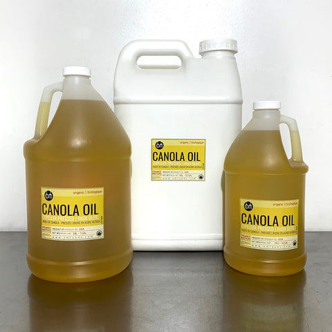 ORGANIC CANOLA OIL, expeller pressed