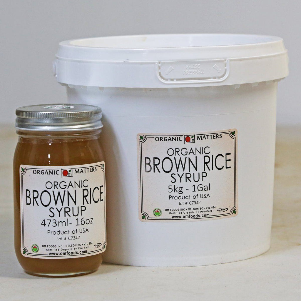 ORGANIC BROWN RICE SYRUP, unfiltered-Sweet Ingredient-Essential Organic Ingredients