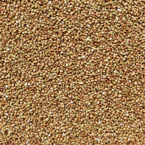 ORGANIC BUCKWHEAT GROATS, hulled, green-Grain-Essential Organic Ingredients