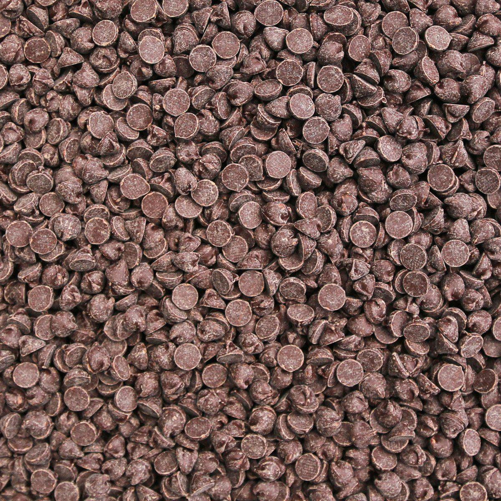 ORGANIC CHOCOLATE CHIPS, 1000ct, 45% semi sweet-Cacao-Essential Organic Ingredients