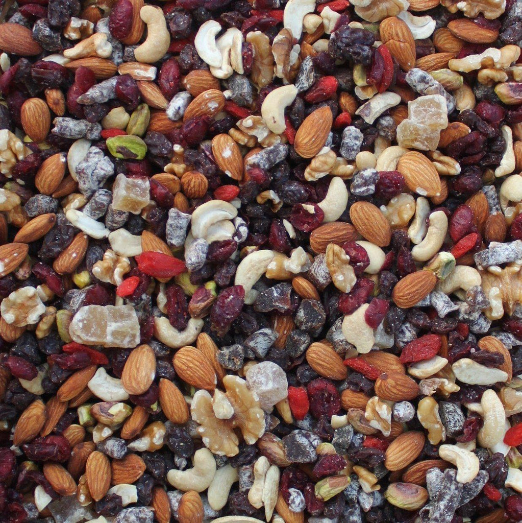 ORGANIC FRUIT & NUT TRAIL MIX-Nut-Essential Organic Ingredients
