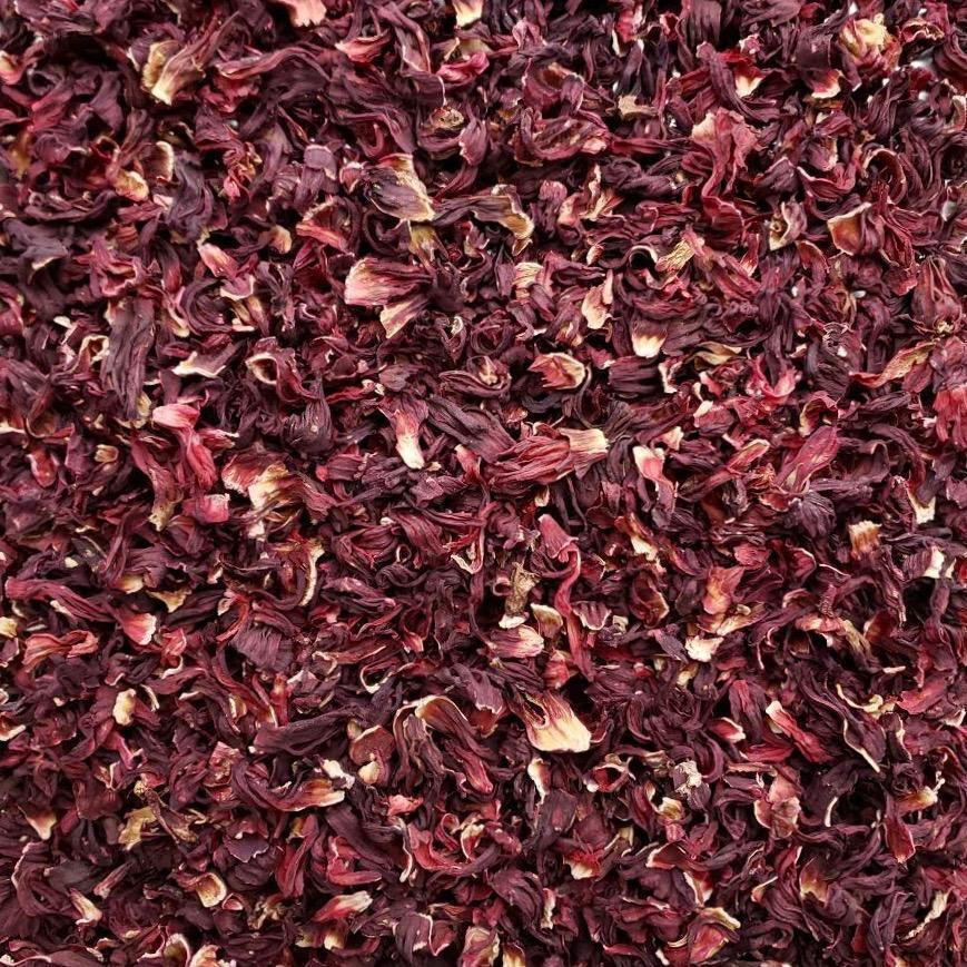 ORGANIC HIBISCUS FLOWER, whole, c/s, or tbc-Botanical Herb-Essential Organic Ingredients