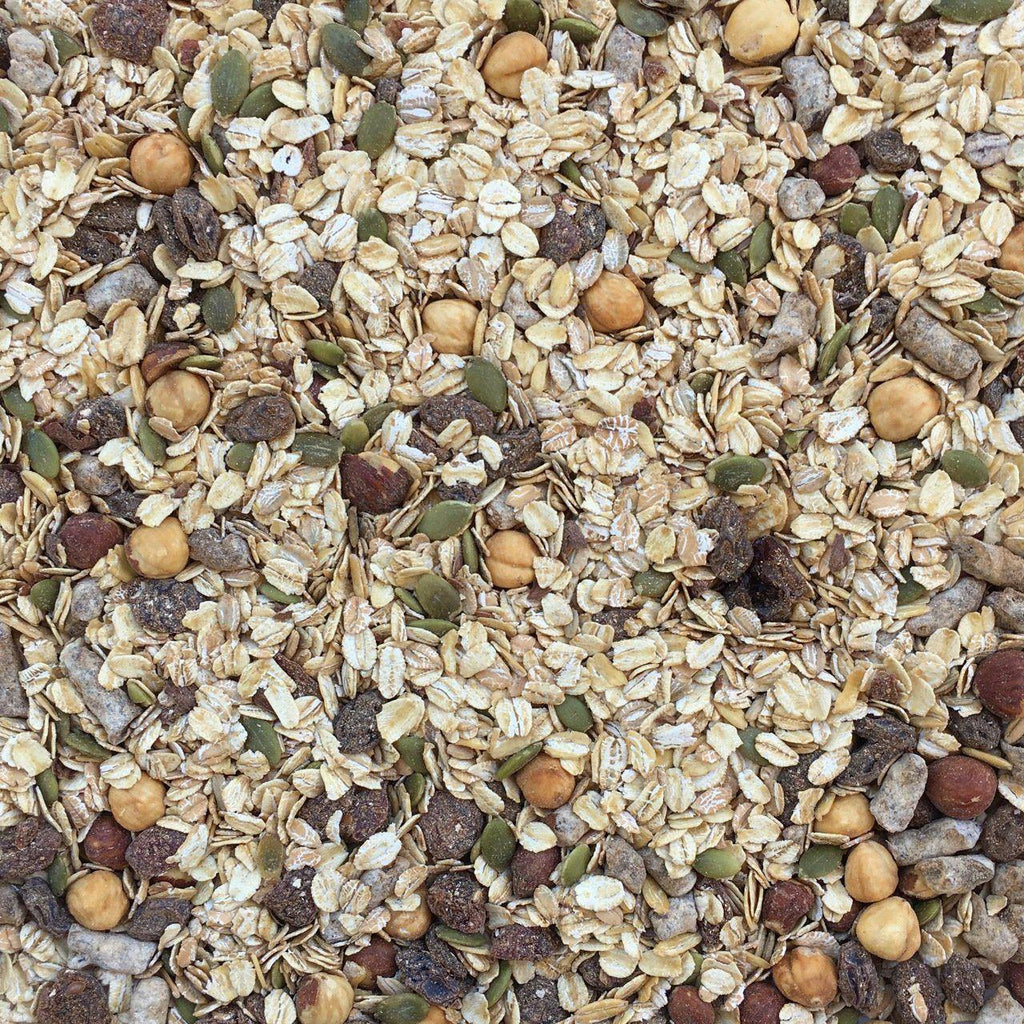 ORGANIC MUESLI MIX, multi-grain, spice-Grain-Essential Organic Ingredients