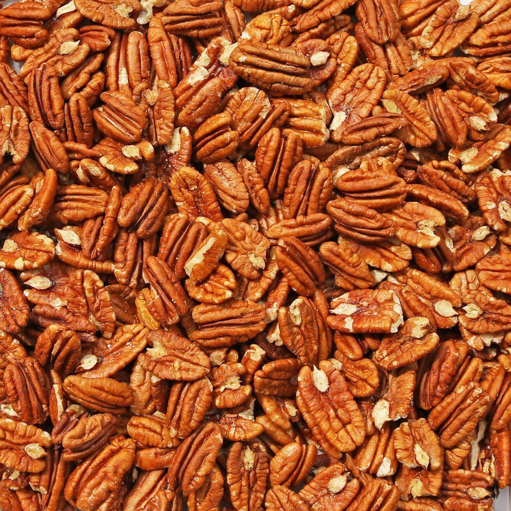 ORGANIC PECANS, fancy, large halves-Nut-Essential Organic Ingredients