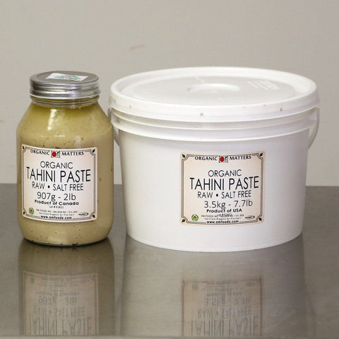 ORGANIC TAHINI, raw-Seed-Essential Organic Ingredients