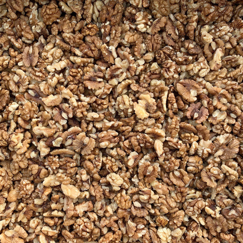 ORGANIC WALNUTS, halves & pieces, imported-Nut-Essential Organic Ingredients