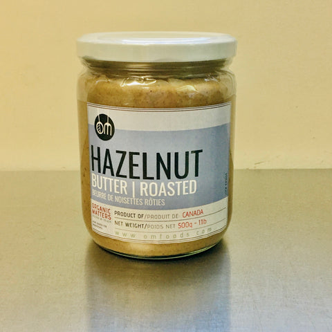 HAZELNUT BUTTER, roasted