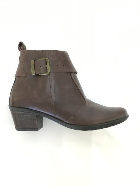 Phelan Chocolate Ankle Boot