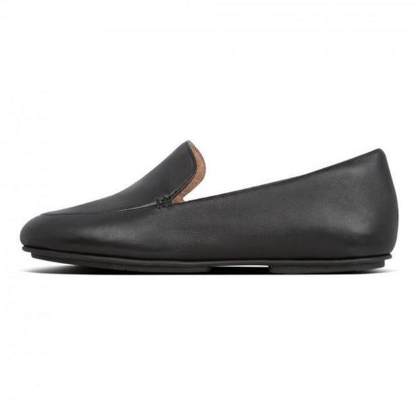 FitFlop - Lena Leather Loafer All Black