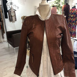 Napa Leather Tan Jacket