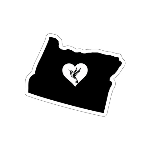 Image of Oregon - Hummingbird Lover Sticker