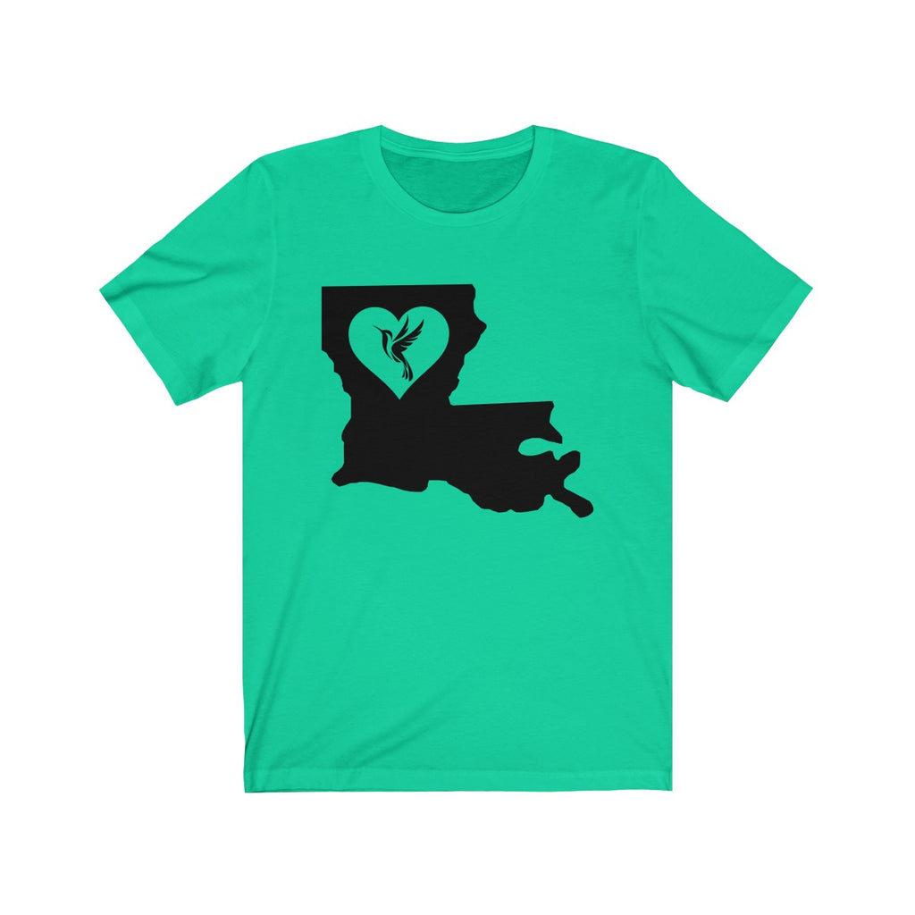 Louisiana - Hummigbird Lover Tee