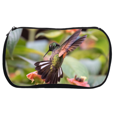 Stripe-tailed Hummingbird Cosmetic Bags