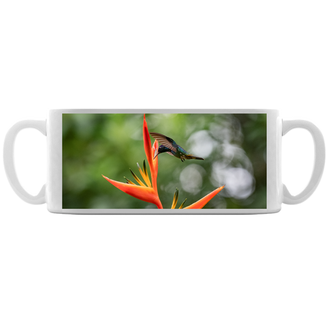 Image of Golden-tailed Sapphire Hummingbird Coffee Mug
