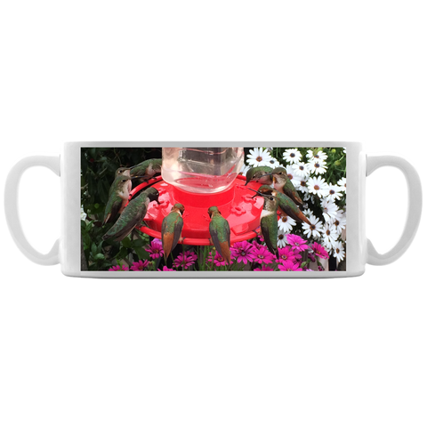 Image of Hummingbird Feeder Coffee Mug
